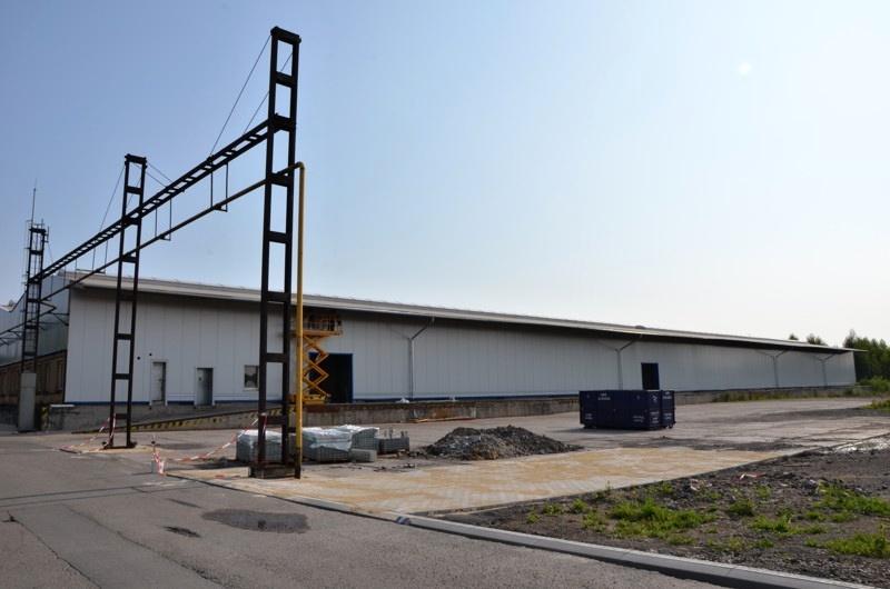Pronájem skladovací haly o výměře 3.570 m2, Ostrava