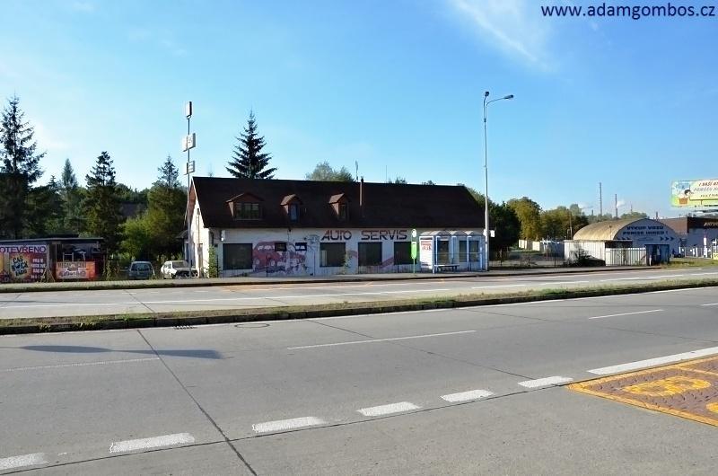 Prodej komerční nemovitosti s bytem, Ostrava - Radvanice